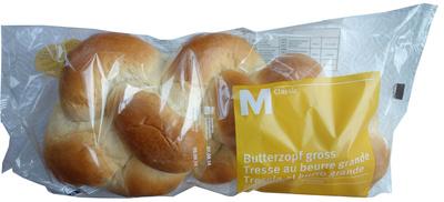 Tresse au beurre grande précuite - Product - fr