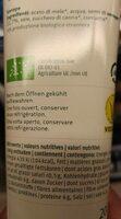 Sweet mustard - Informations nutritionnelles - fr