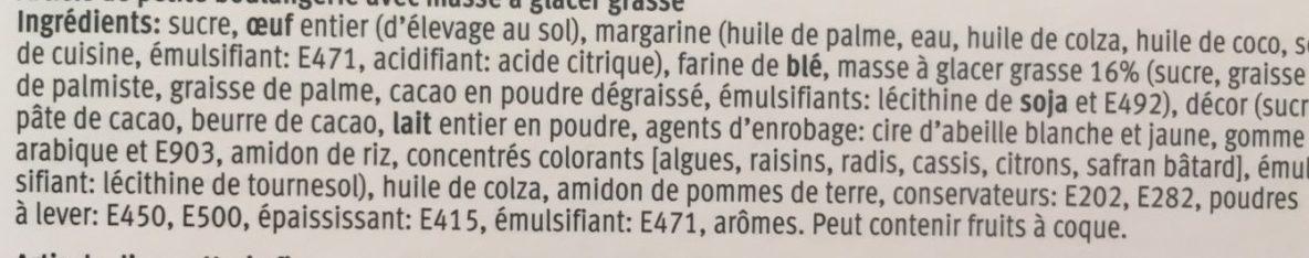 Party tortchen - Ingrédients - fr