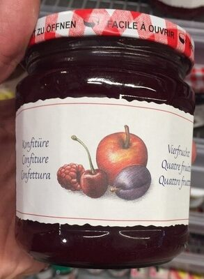 Confiture, Quatre fruits - Prodotto - fr