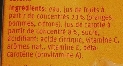 Actilife Breakfast - Ingredients