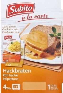 Rôti haché en sauce champignons - Product