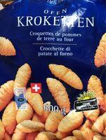 Croquette de pommes de terre au four - Produit - fr