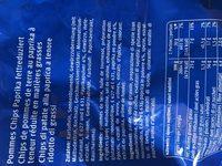 Paprika Chips - Ingredienti - fr