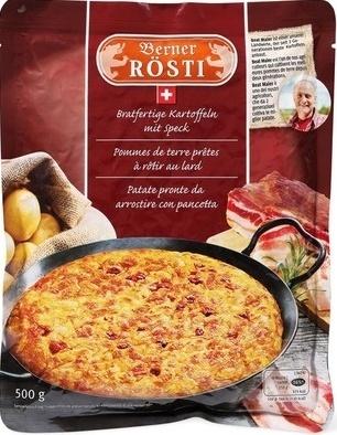 Rösti à la bernoise, au lard - Product - fr