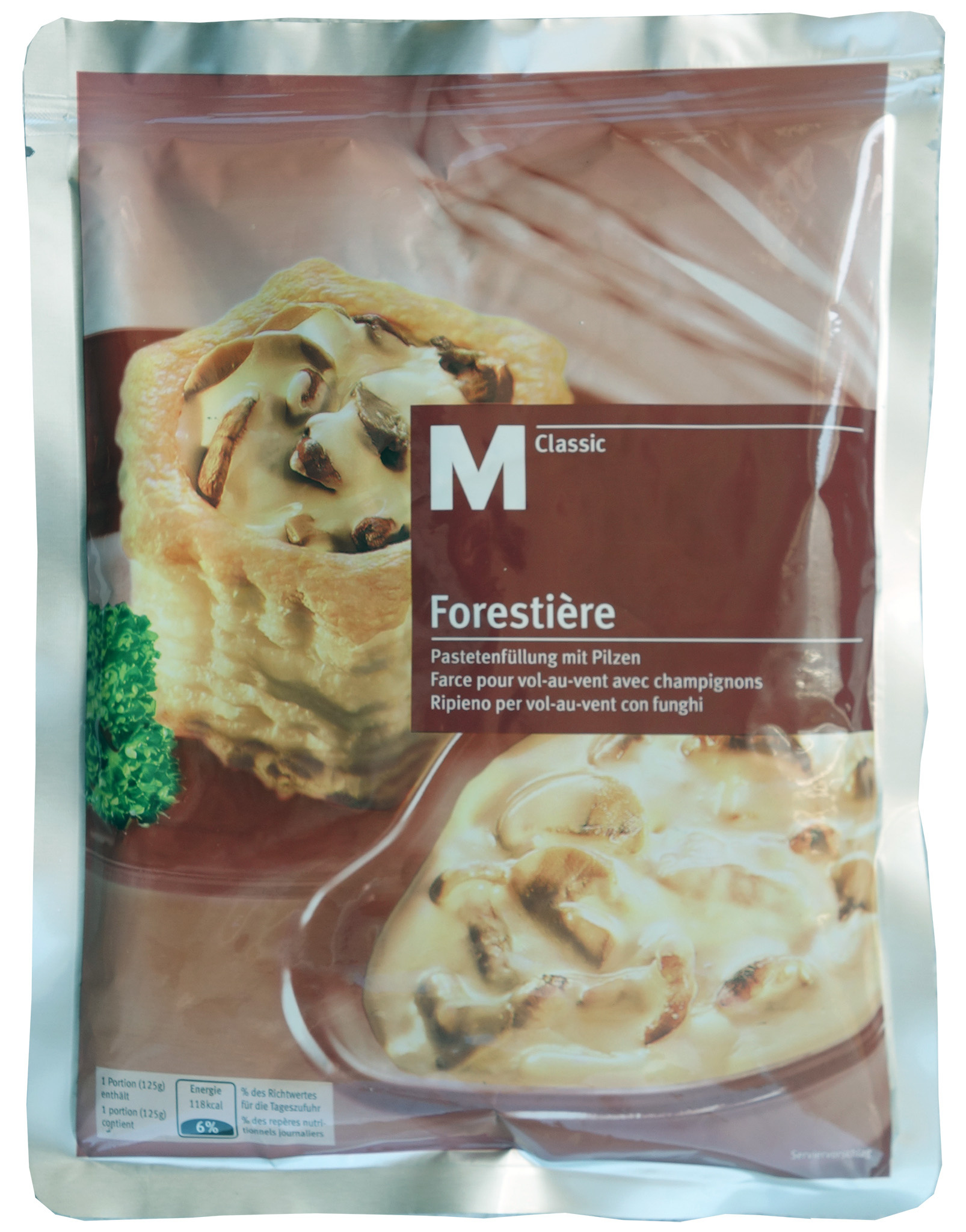 Farce pour vol-au-vent Forestière M-Classic - Product - fr