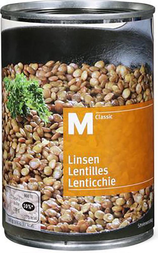 M-CLASSIC LENTILLES SANS LARD - Product