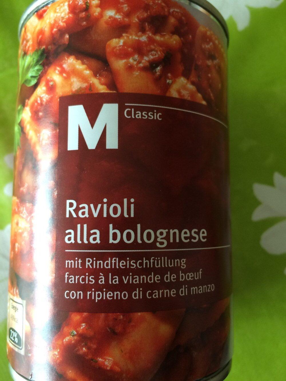 Ravioli à la bolognaise - Product - de