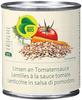 Lentilles à la sauce tomate BIO - Product