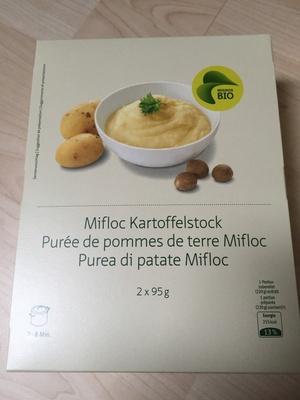 Bio Purée de pomme de terre Mifloc - Product - fr