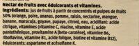 Nectar Multifruits - Ingredienti - de