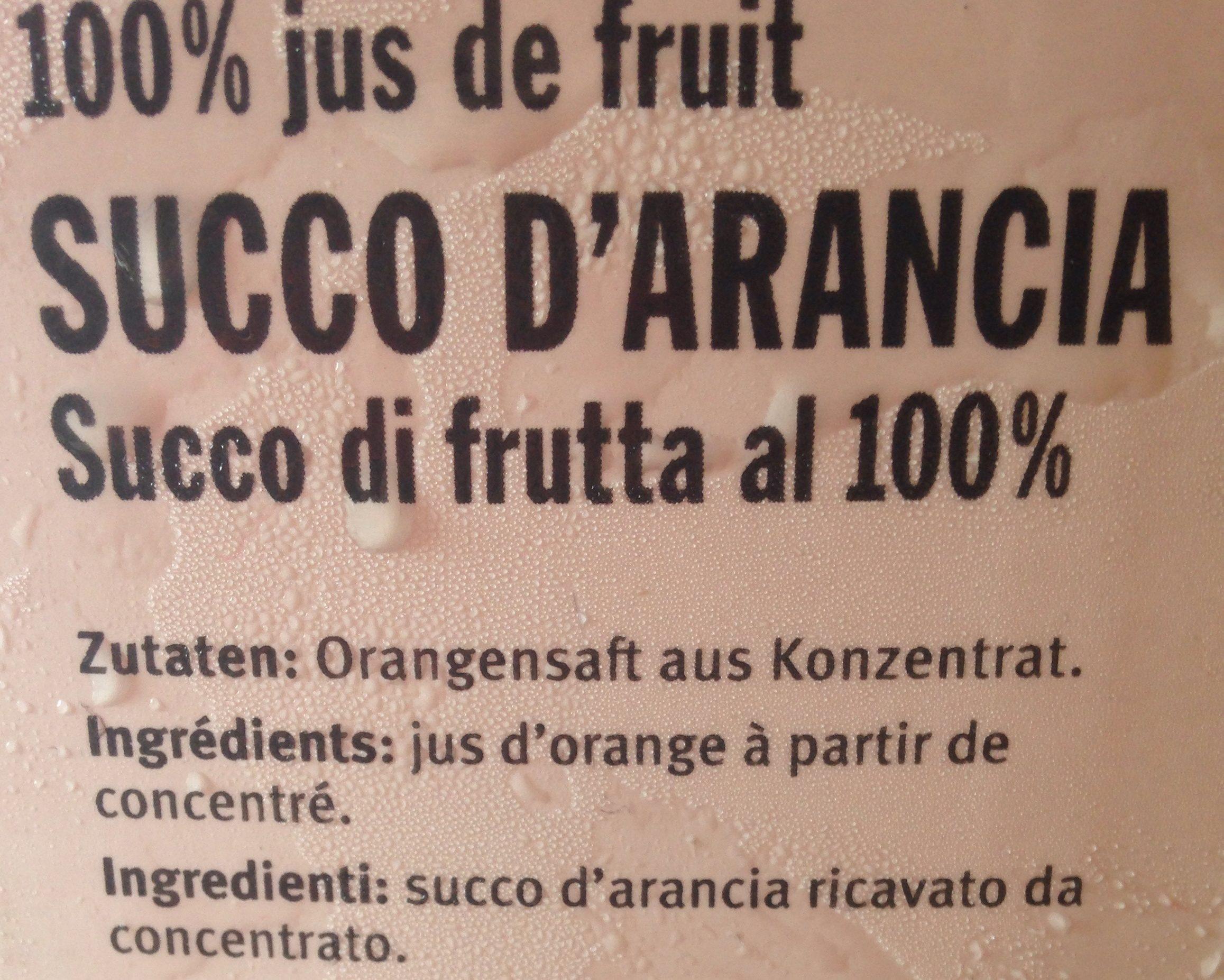 M Budget Orangensaft - Inhaltsstoffe - fr