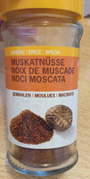 Noix de muscade moulues - Product