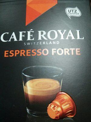 Espresso forte - Informations nutritionnelles - fr