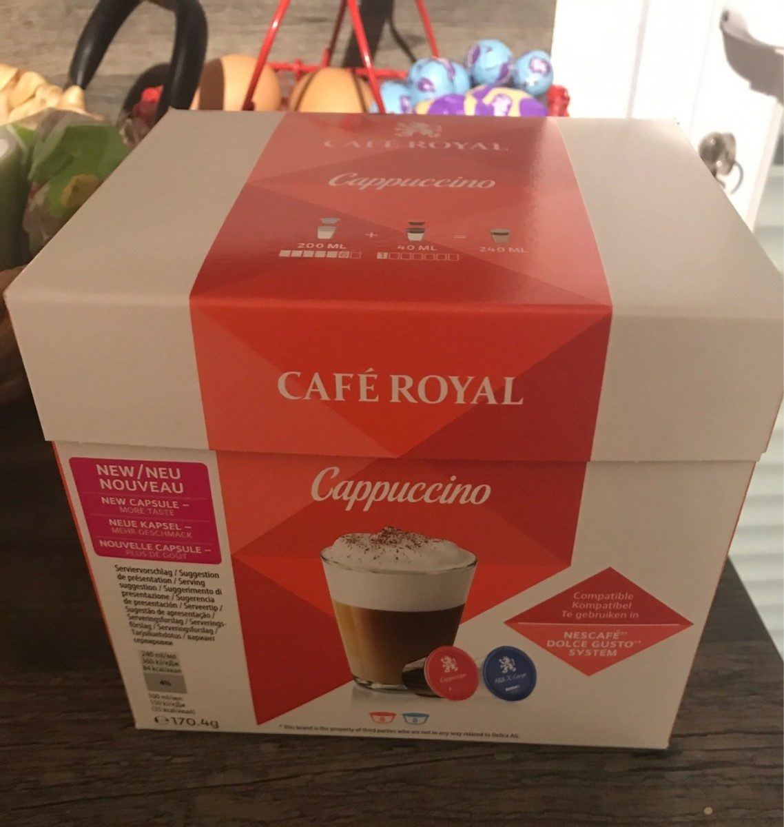 CAFE ROYAL Compatible Dolce Gusto Cappuccino x16 - Product - fr
