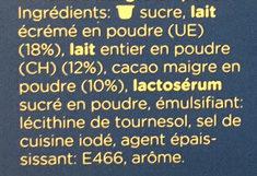 Twïn Banago - Ingredients