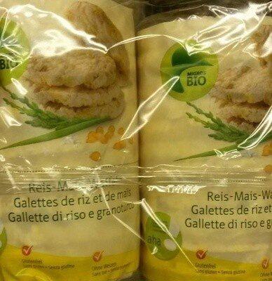 Galette de riz et maïs - Produit - fr