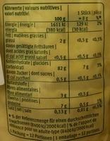 Galette de riz et maïs - Nutrition facts - fr