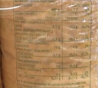 Galette de riz et maïs - Informations nutritionnelles - fr