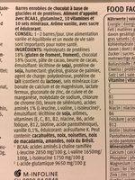 Sport Food Power Protein 36 Bar Vanilla - Produkt - fr