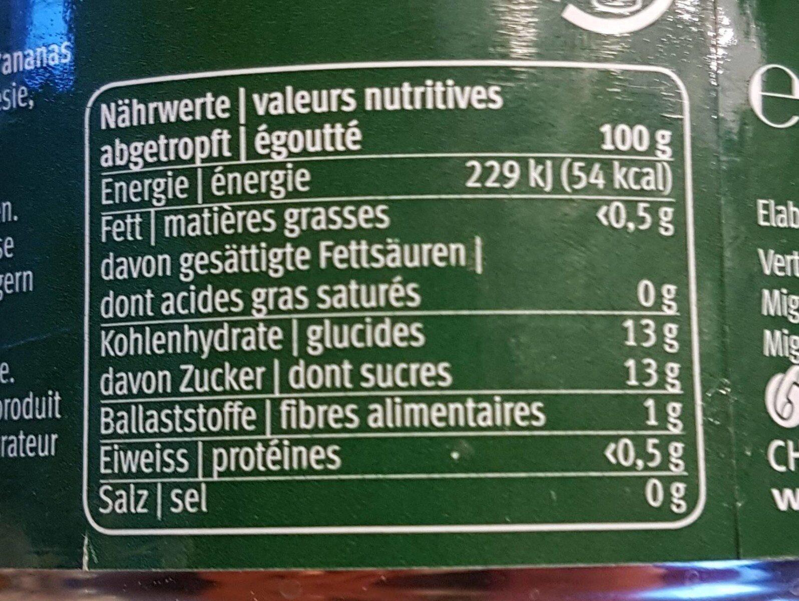 Ananas - Ingredienti - fr