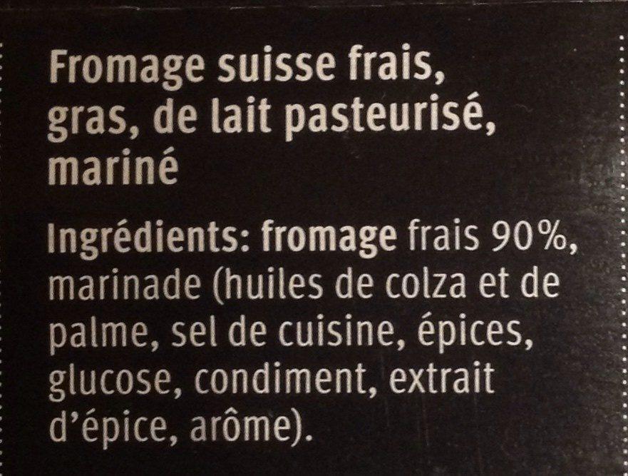 Grill Cheese Steak - Ingredients