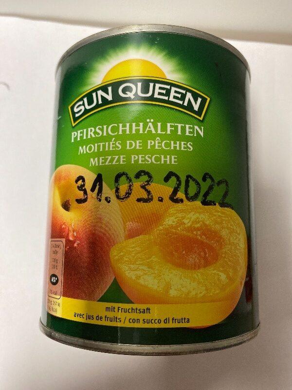 Pfirsichhälften - Produit - fr