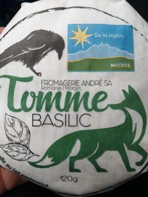 Tomme BASILIC - Product - fr