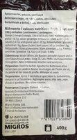 Betteraves rouge cuites - Informations nutritionnelles - fr