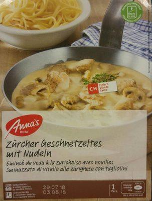 Anna's Best Tradition, Kalbsgeschnetzeltes Zürcher... - Produit