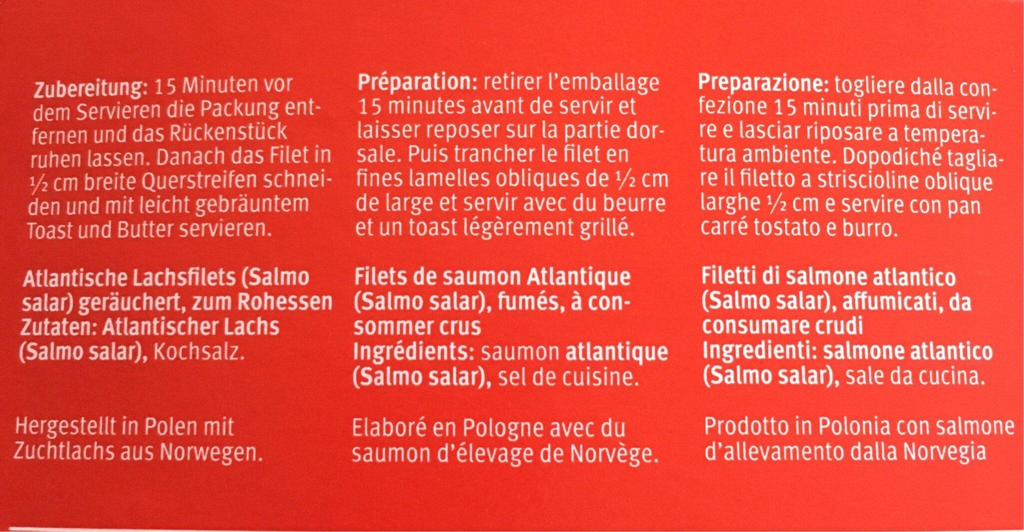 Coeur de filet de saumon - Ingredients - fr