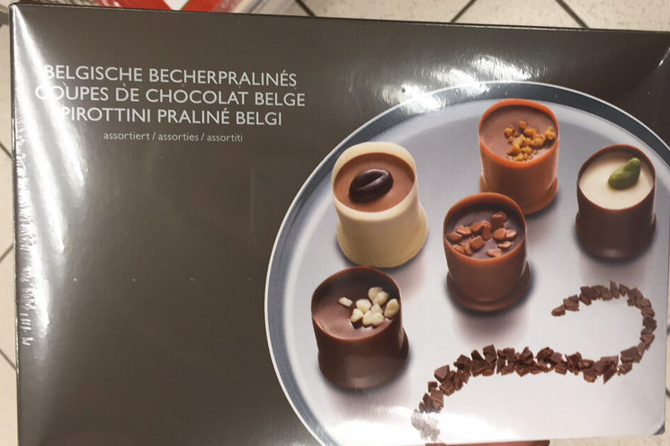 Coupes de chocolats belges - Product