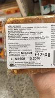 Cantucci aux amandes - Ingrediënten - fr
