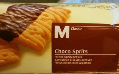Chocolat sprits - Product - fr