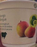 Yogourt Au Lait De Brebis Mangue Bio - Migros - 120 GR - Product