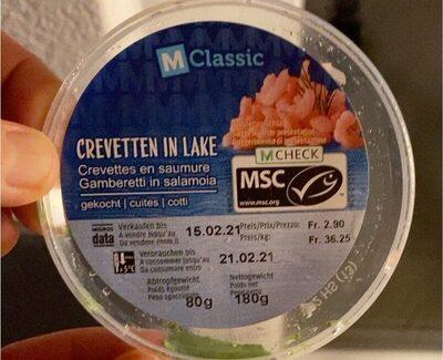 Crevette en saumure - Prodotto - fr