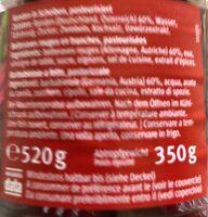 Betteraves rouges en tranches - Ingrediënten - fr