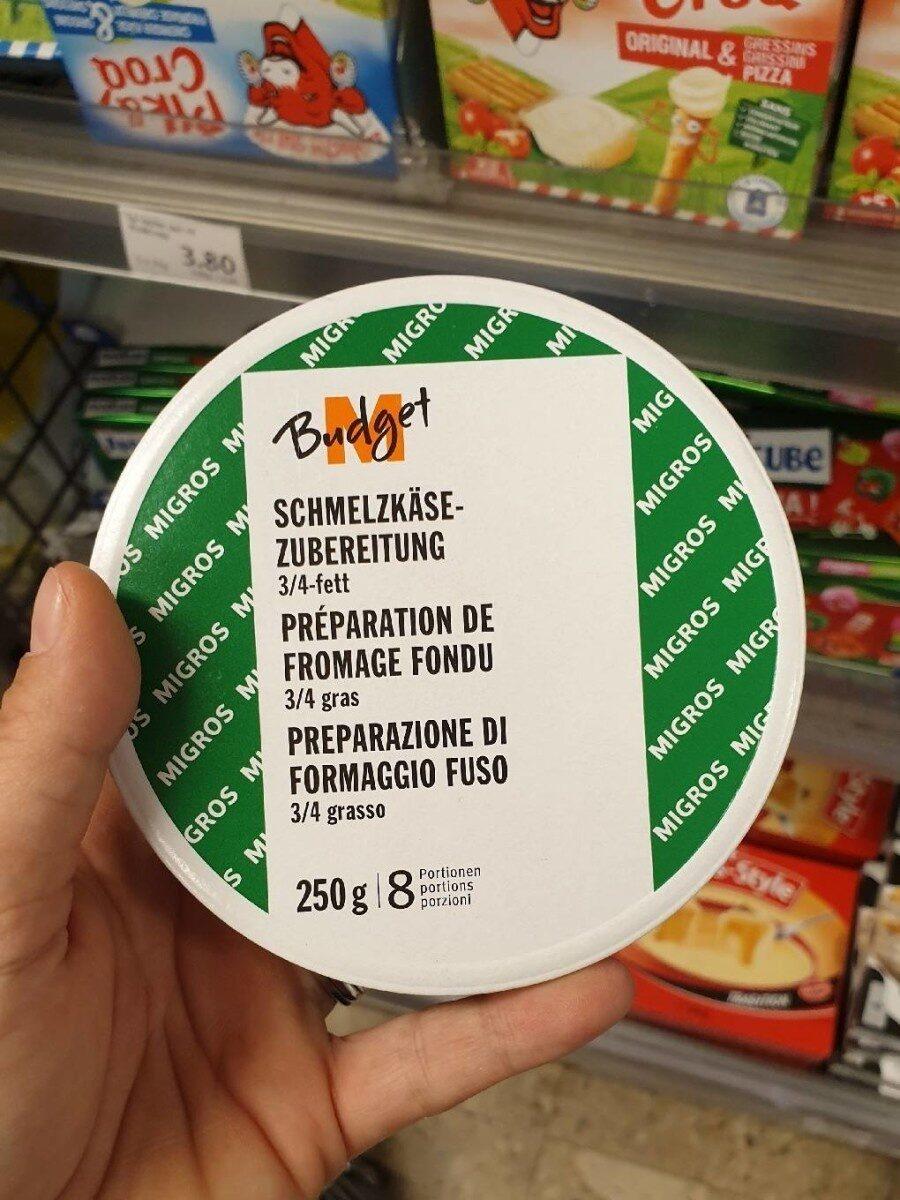 Préparation de fromage fondu - Produkt - fr