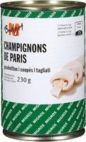 Champignons de Paris coupés - Produkt