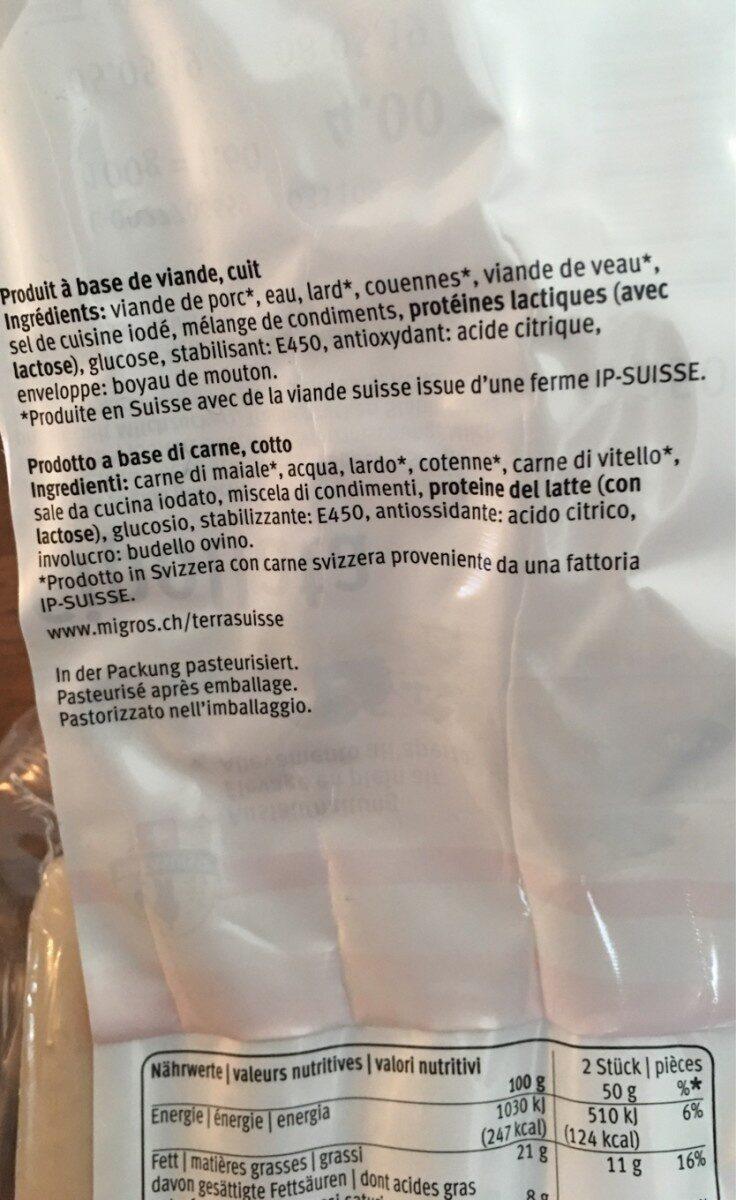 Cipollata - Ingredienti - fr
