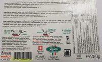 Ravioli frais épinard & ricotta - Ingrédients - fr