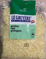 Gruyère râpé - Product - fr