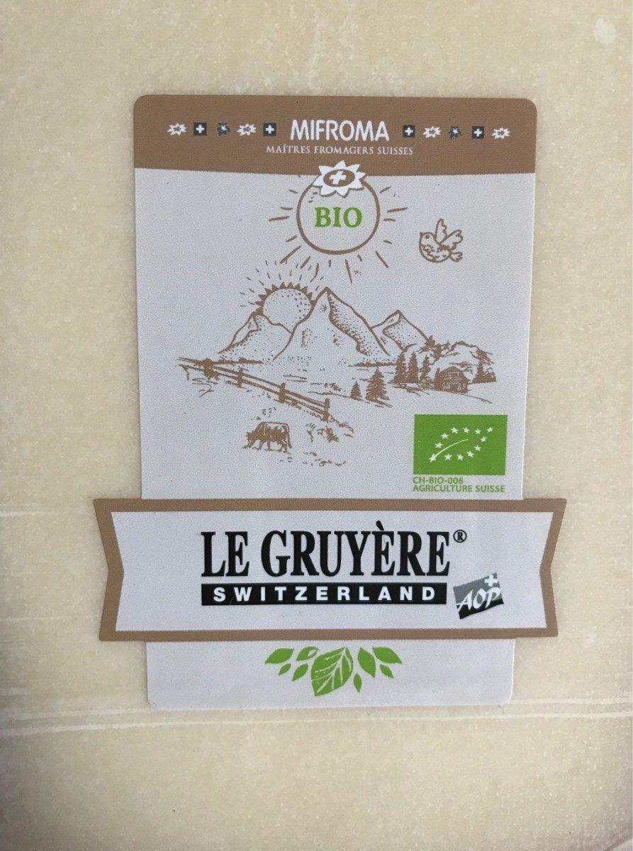 Le Gruyere - Produit
