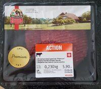 Steaks hachés de boeuf épicés - Prodotto - fr