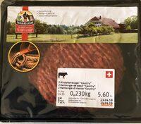 "Hamburger de boeuf ""country"" - Product"
