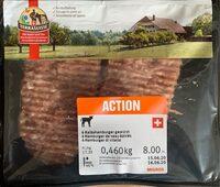 Hamburger de veau épicé - Prodotto - fr