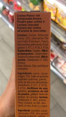 Mousse Au Chocolat - Ingrediënten - fr
