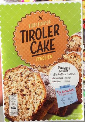 Homemade : Tiroler Cake - Product - fr