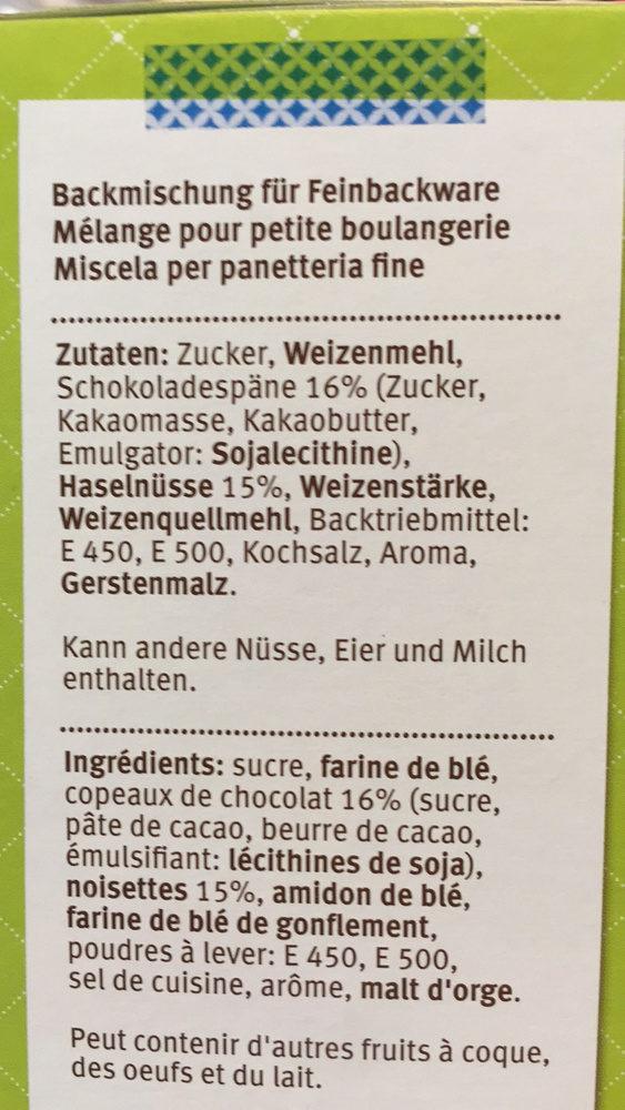 Homemade : Tiroler Cake - Ingrediënten - fr