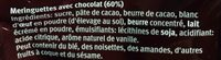 Petites Meringues au Chocolat - Ingrédients - fr